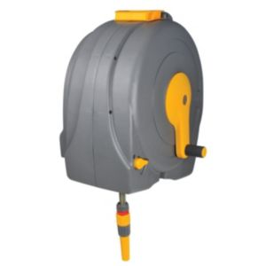 Hozelock Wall Mounted Hose Reel & Hose (L)20m