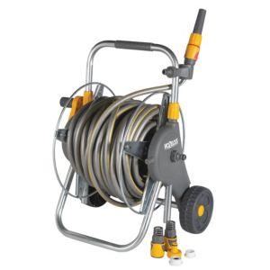 Hozelock Ultra Pro Hose Reel & Hose Cart (L)30m