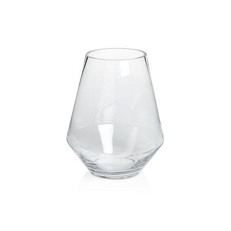 Tapered Glass Vase Medium Departments Diy At Bq