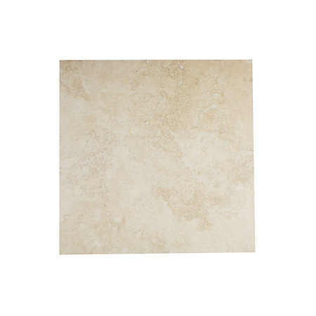 castle travertine cream stone effect ceramic wall floor tile pack