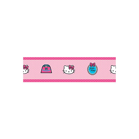 Decofun Hello Kitty Pink Border Departments Tradepoint