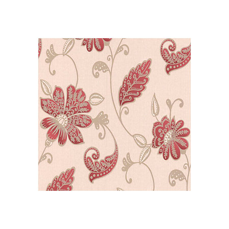 Graham Brown Juliet Red Floral Wallpaper Departments Tradepoint