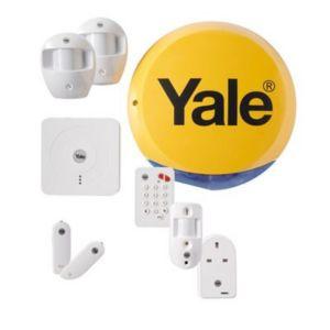 Yale Wireless Smart Home View & Control Alarm Kit SR340