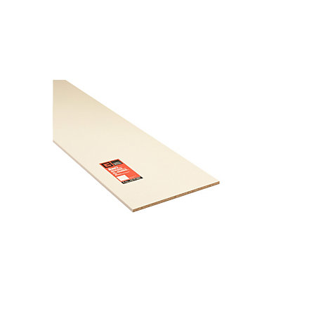 Mfc Furniture Panel White L 2440mm W 533mm T 15mm Departments Diy At B Q