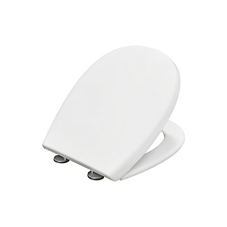 Amazing Bemis Push Nclean White Soft Close Toilet Seat Departments Diy At Bq Andrewgaddart Wooden Chair Designs For Living Room Andrewgaddartcom
