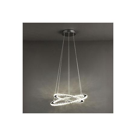 zonje modern chrome effect ceiling light departments diy  bq