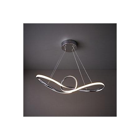 Endor Chrome Effect Pendant Ceiling Light Departments