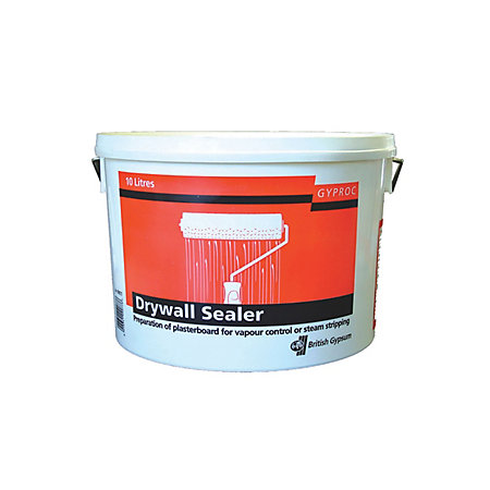 Gyproc drywall sealer 10000ml departments tradepoint for Drywall delivery cost