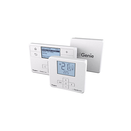 drayton migenie dual channel smart thermostat. Black Bedroom Furniture Sets. Home Design Ideas