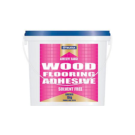 Stikatak Wood Floor Adhesive 15 Kg Departments Diy At B Amp Q