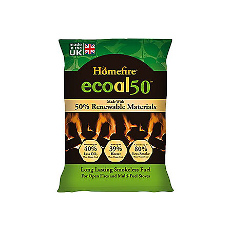Ecoal Smokeless Solid Fuel 10kg Pack Departments Diy At Bq