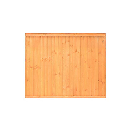 grange closeboard traditional vertical slat fence panel w. Black Bedroom Furniture Sets. Home Design Ideas