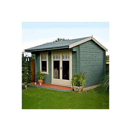 Forest Green Garden Shed