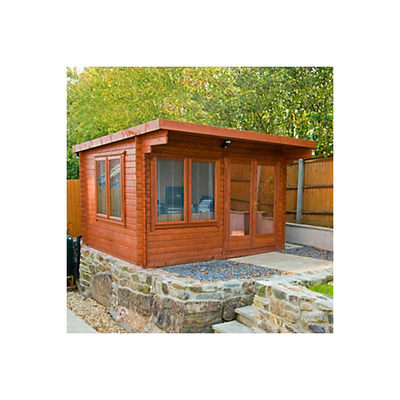 12x12 Danbury 28mm Tongue Amp Groove Timber Log Cabin