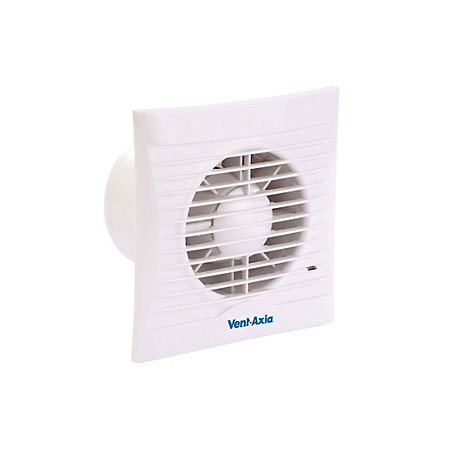 Vent Axia Sil100t Bathroom Extractor Fan With Timer D 98mm Departments Tradepoint