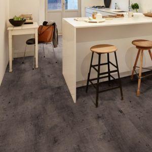 Carbon Effect Waterproof Luxury Vinyl Click Flooring Sample