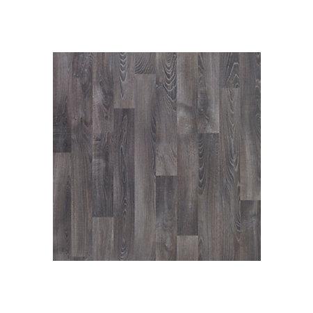 Dark Grey Oak Effect Vinyl Flooring 4 M² Departments Diy At Bq
