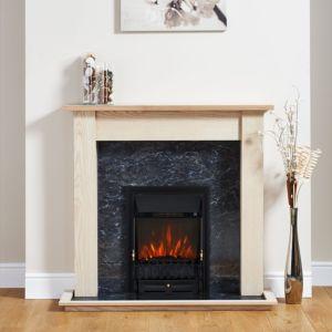 Blenheim Black Electric Fire Suite