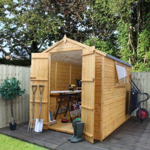 Image of 8X6 Apex Shiplap+ Wooden Shed