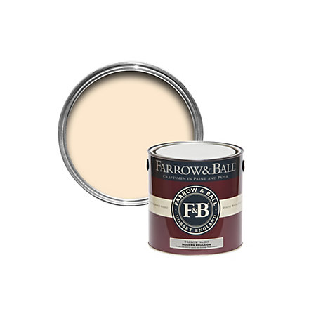farrow ball tallow matt modern emulsion paint 2. Black Bedroom Furniture Sets. Home Design Ideas