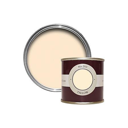 farrow ball tallow estate emulsion paint 0 1l tester pot departments diy at b q. Black Bedroom Furniture Sets. Home Design Ideas