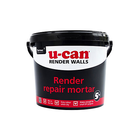 U Can Render Repair Mortar 5kg Tub Departments Tradepoint