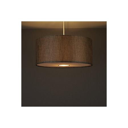 Colours burnett grey drum light shade d400mm departments diy 000 000 aloadofball Image collections