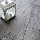 Indus Dark Grey Stone Effect Porcelain Wall Amp Floor Tile