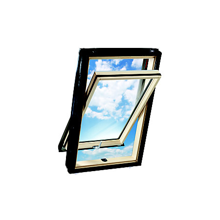 Geom Solis Pine Centre Pivot Roof Window H 780mm W 540mm