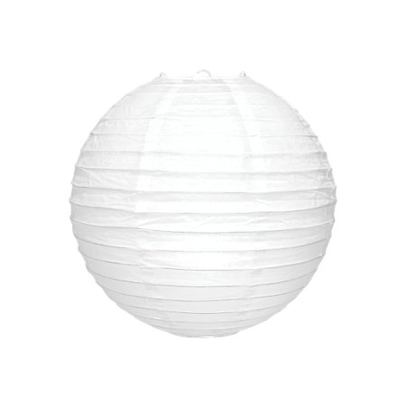 White ribbed ball light shade d350mm departments diy at bq product notices aloadofball Images