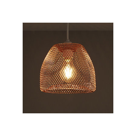 Colours gatun copper wire light shade d205mm departments diy 000 000 greentooth Image collections
