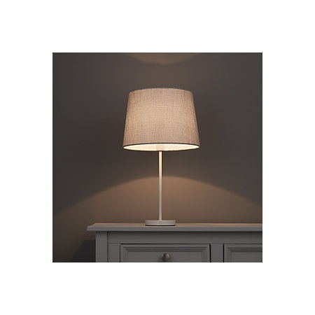 Colours sadler grey metallic lamp shade d280mm departments diy 000 000 aloadofball Image collections