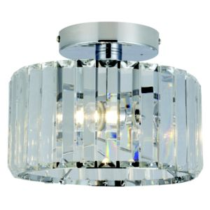 b q bathroom lights pereti chrome effect 2 lamp bathroom ceiling light 15449
