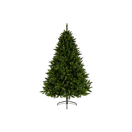 8ft King Pine Artificial Christmas tree | Departments ...