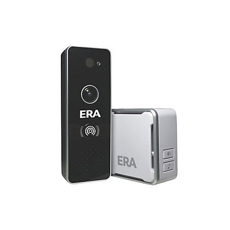 ERA Black, Smart Home Wi-Fi IP Doorbell Camera   Departments   DIY at B&Q