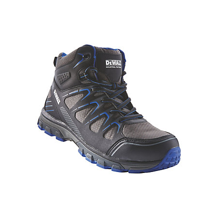 3420f17ff84 DeWalt Oxygen Black & blue Trainer boot, Size 8 | Departments | DIY at B&Q