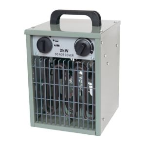 Image of Apollo 2KW Grey Electric Greenhouse heater