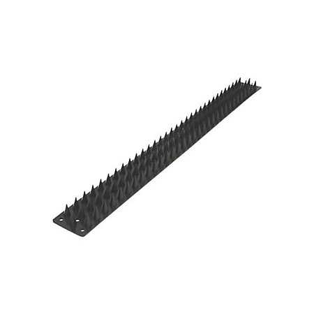 Black Wall spikes (H)15mm (L)500mm (W)45mm, Pack of 8 | Departments | DIY  at B&Q