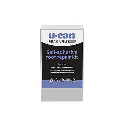 U Can Self Adhesive Roof Repair Kit Departments Diy At B Amp Q