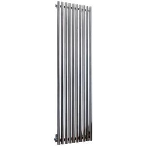 Image of Accuro Korle Impulse Vertical Radiator Stainless steel (H)1500 mm (W)460 mm