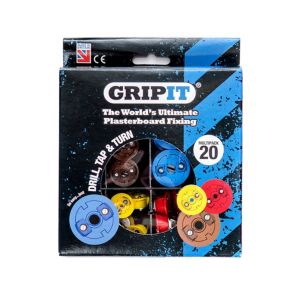 GripIt Plasterboard Fixing Starter Set  20 Pieces