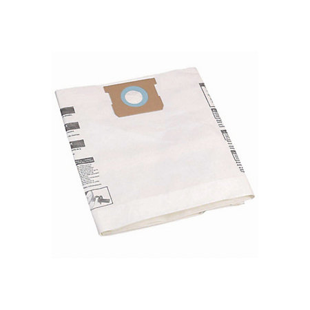 Mac Allister White Vacuum Cleaner Bag 50l Pack Of 5