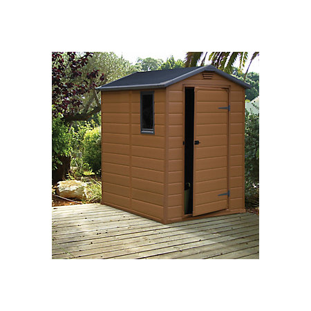 6x4 Apex Shiplap Plastic Shed Base Included Departments Diy At B Q