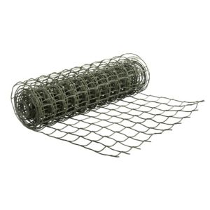 Image of Green HDPE Wire mesh (W)0.5 m (L)3m