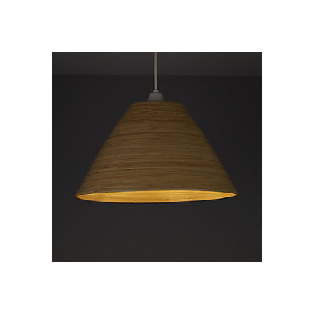 Colours cruse natural bamboo lamp shade d350mm departments 000 000 mozeypictures Gallery