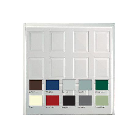 Dakota Framed Retractable Garage Door Departments Diy At Bq