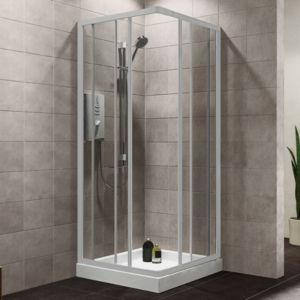 Plumbsure Shower Enclosures Amp Doors Bathroom Departments Diy At B Amp Q
