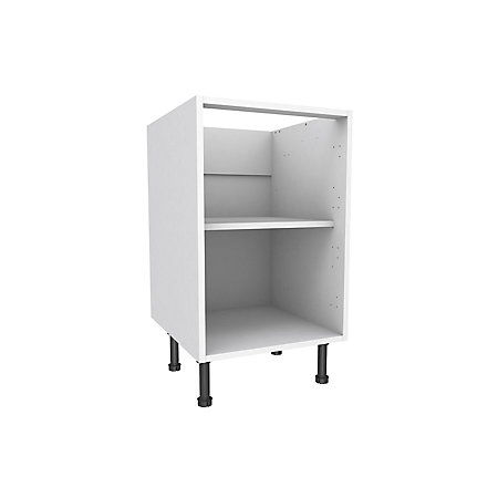 Cooke & Lewis White Standard Base cabinet, (W)500mm | Departments | DIY at  B&Q