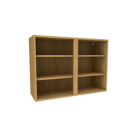 Cooke lewis oak effect deep wall cabinet w 1000mm for Kitchen cabinets 1000mm