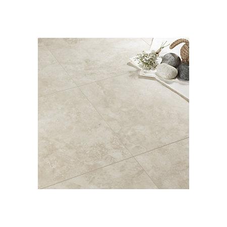 Quickstep Tila Cream Travertine Tile Effect Laminate Flooring 1 M